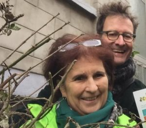 Anne Tyssaen en Wouter Hessels trekken de Ecolo-Groen lijst in Koekelberg