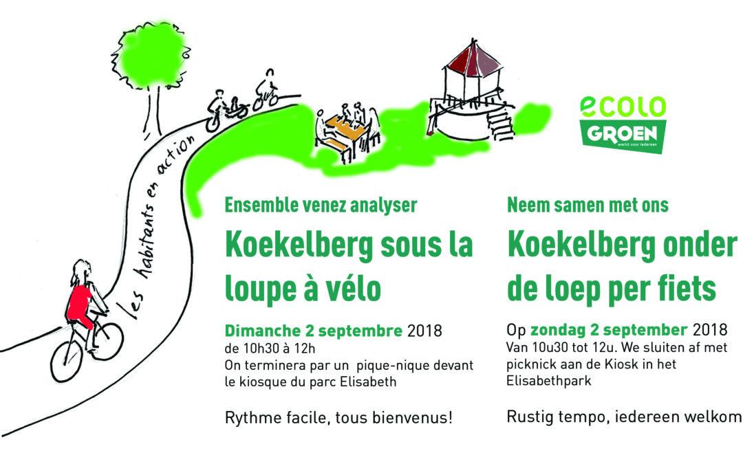 Fietstocht – Tour à vélo 2/9/2018
